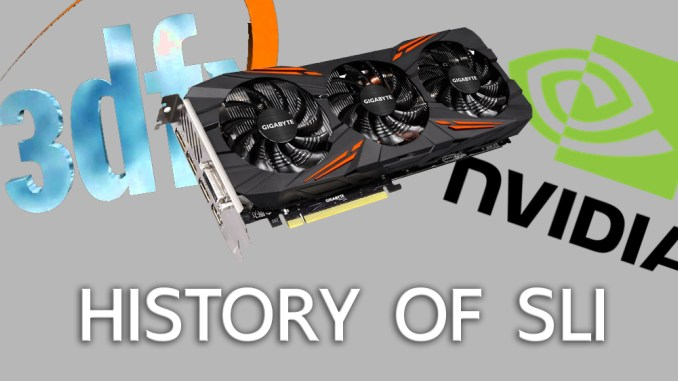 Brief history of SLI – Did Nvidia started it all