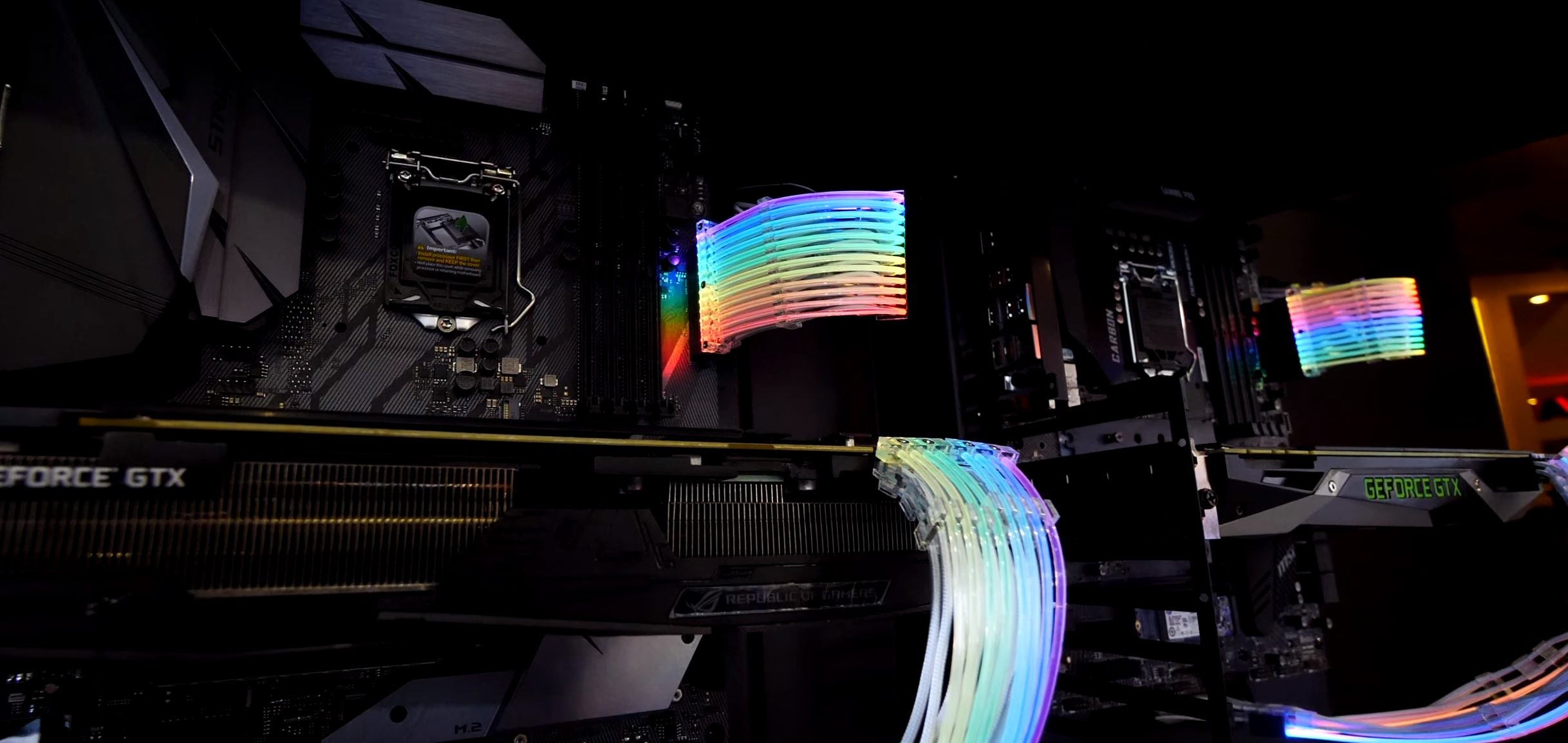 RGB Nation: Lian Li Strimer RGB Cable Extensions Now Available for Pre-Order