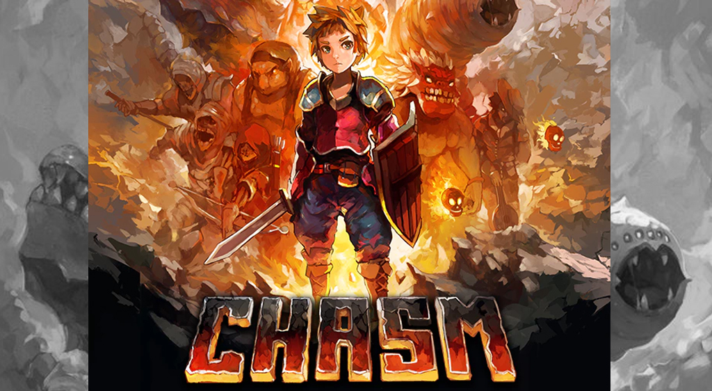 Bitkid, Inc.'s Chasm; a pretty standard yet vaguely roguelike, Metroidvania.