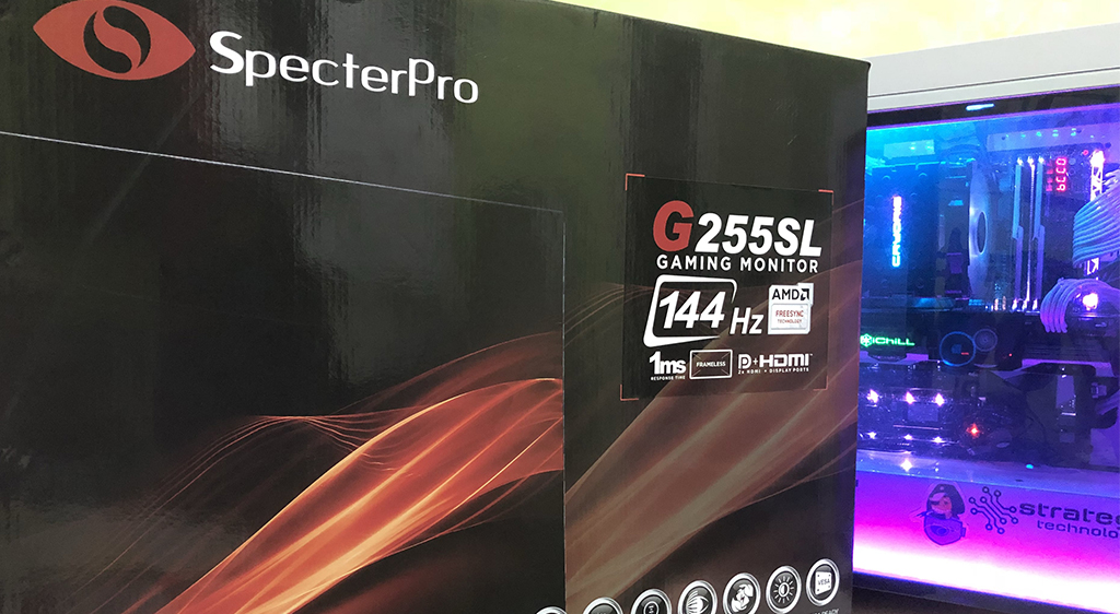 REVIEW | SpecterPro G255SL 144hz FreeSync Gaming Monitor – Everything You Need For Less The Cost