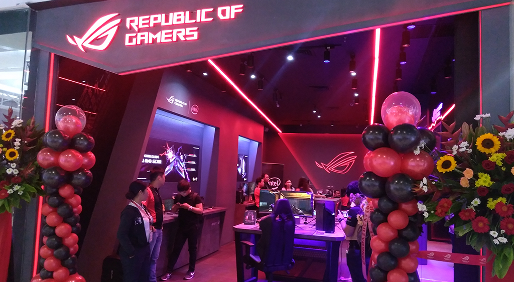 ASUS opens ROG Concept Store in SM Mall of Asia