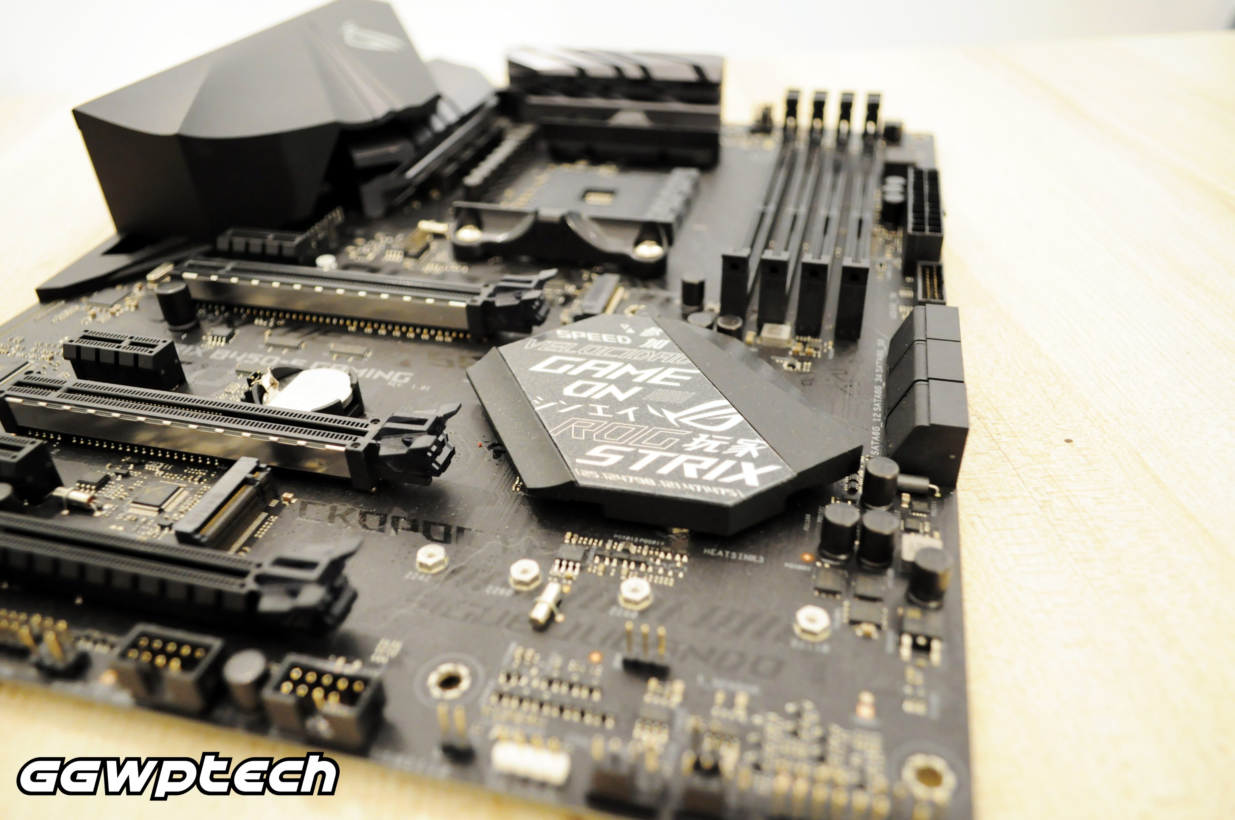 Taking a look at the Asus ROG Strix B450-F Gaming motherboard