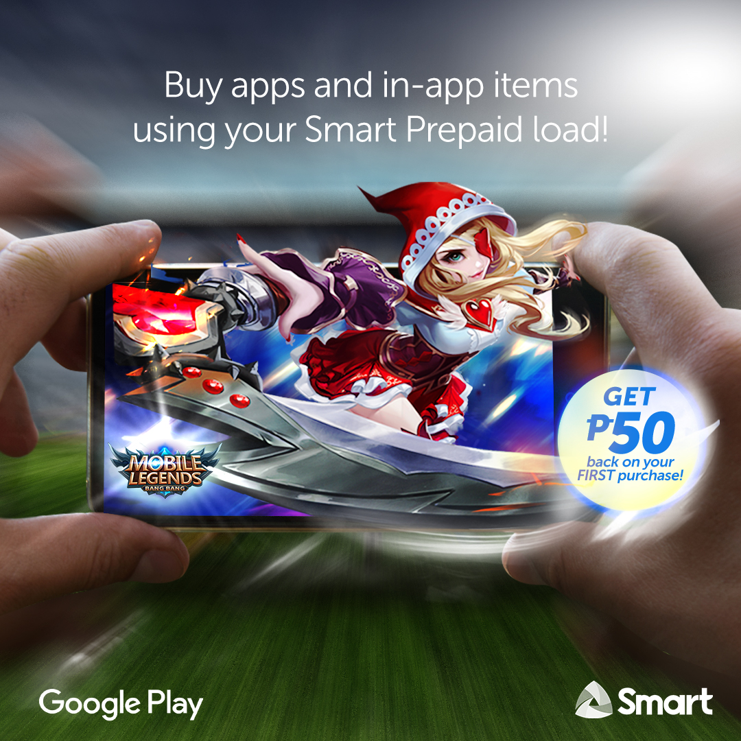 Mobile Gamers can now use Smart prepaid or postpaid for Google Play Store purchases