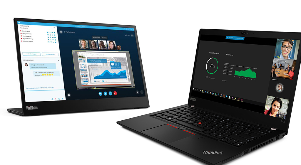 Lenovo accelerates business-wide digital transformation with  9th Gen platform ThinkPads, ThinkVision displays