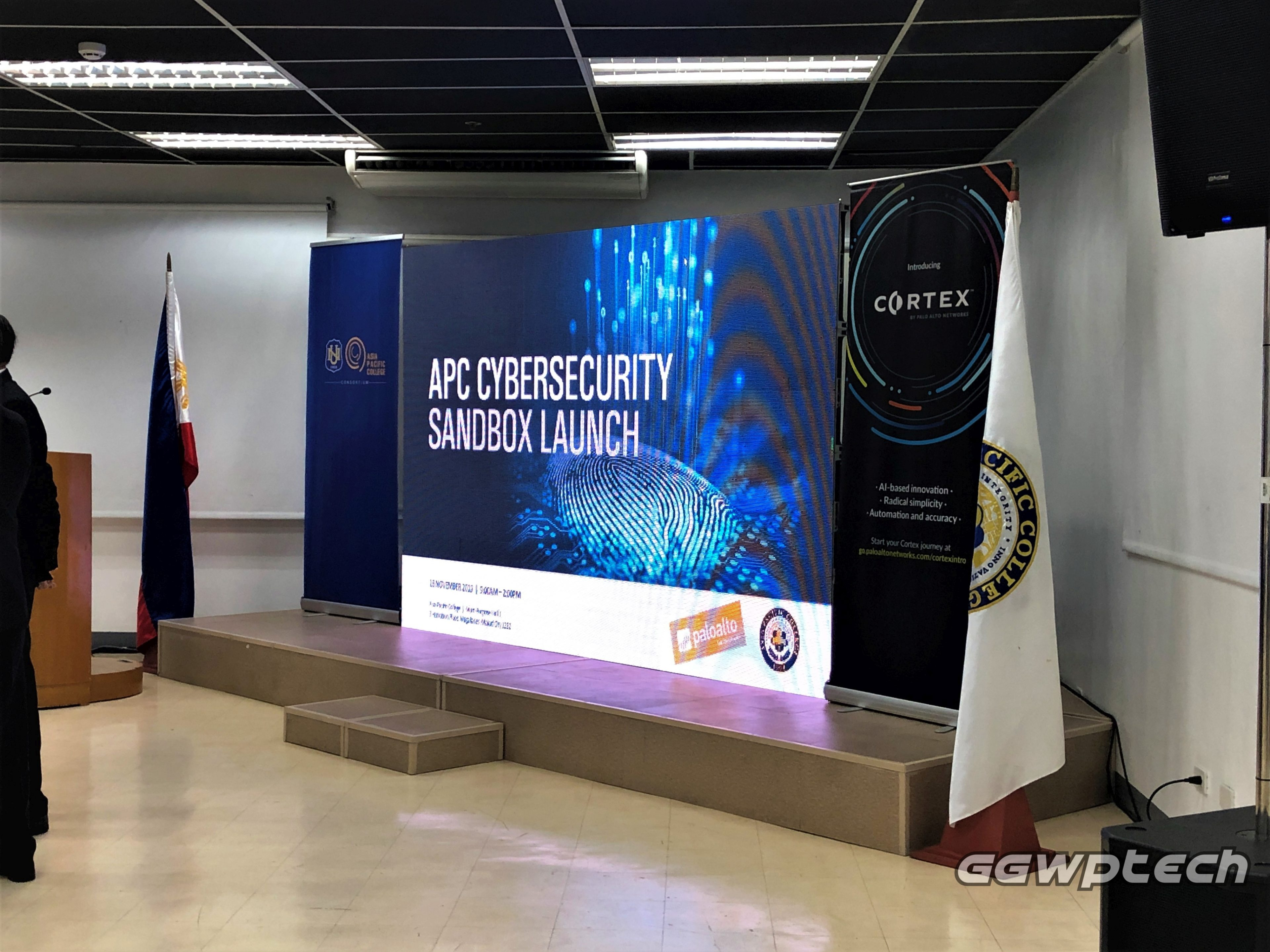 The First Cybersecurity Academy Program with Asia Pacific College and Palo Alto