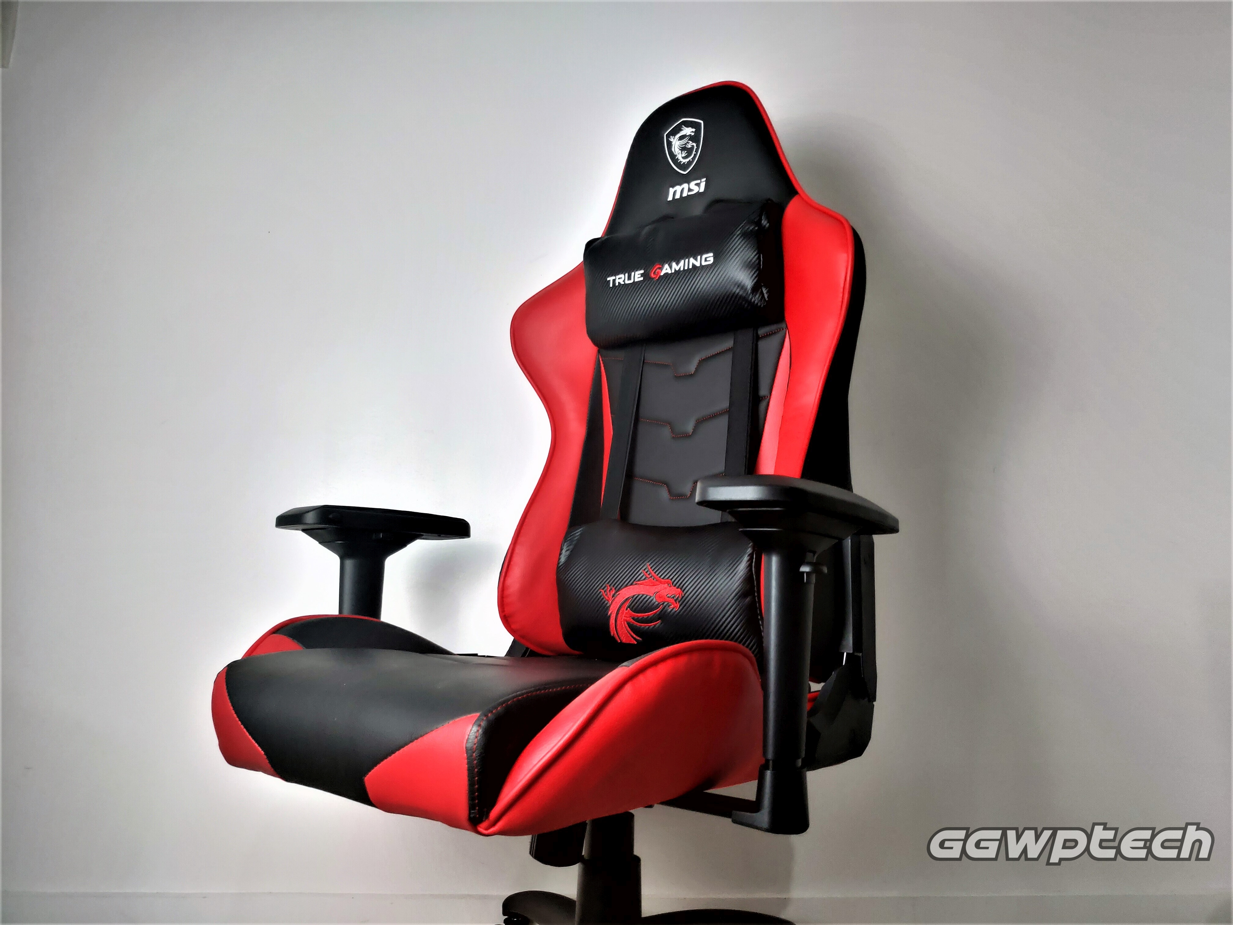 REVIEW   MSI CH120 Gaming Chair: Dragon's Throne
