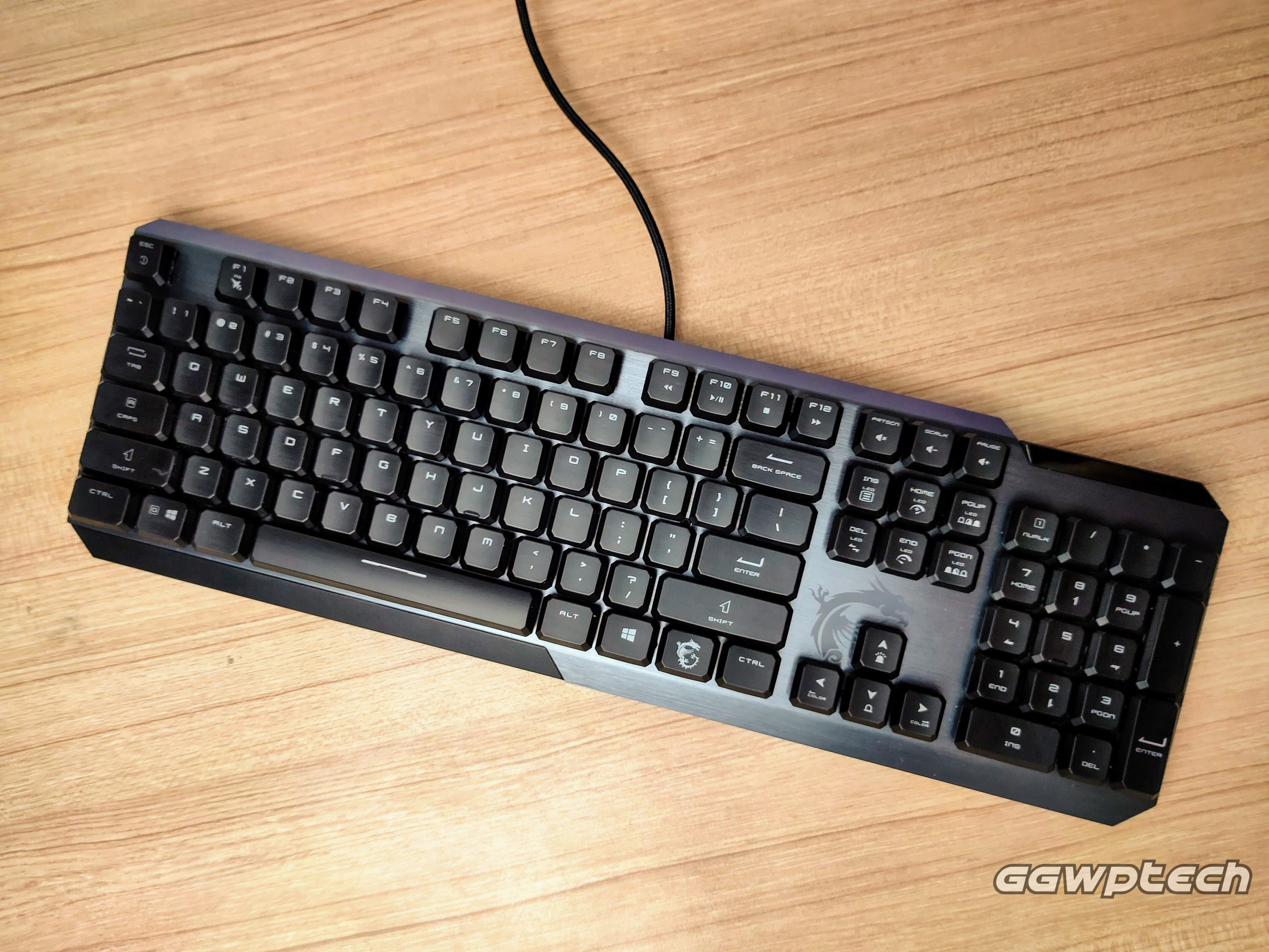 REVIEW | MSI GK50 Vigor Low Profile Keyboard: Treating the Concept Right