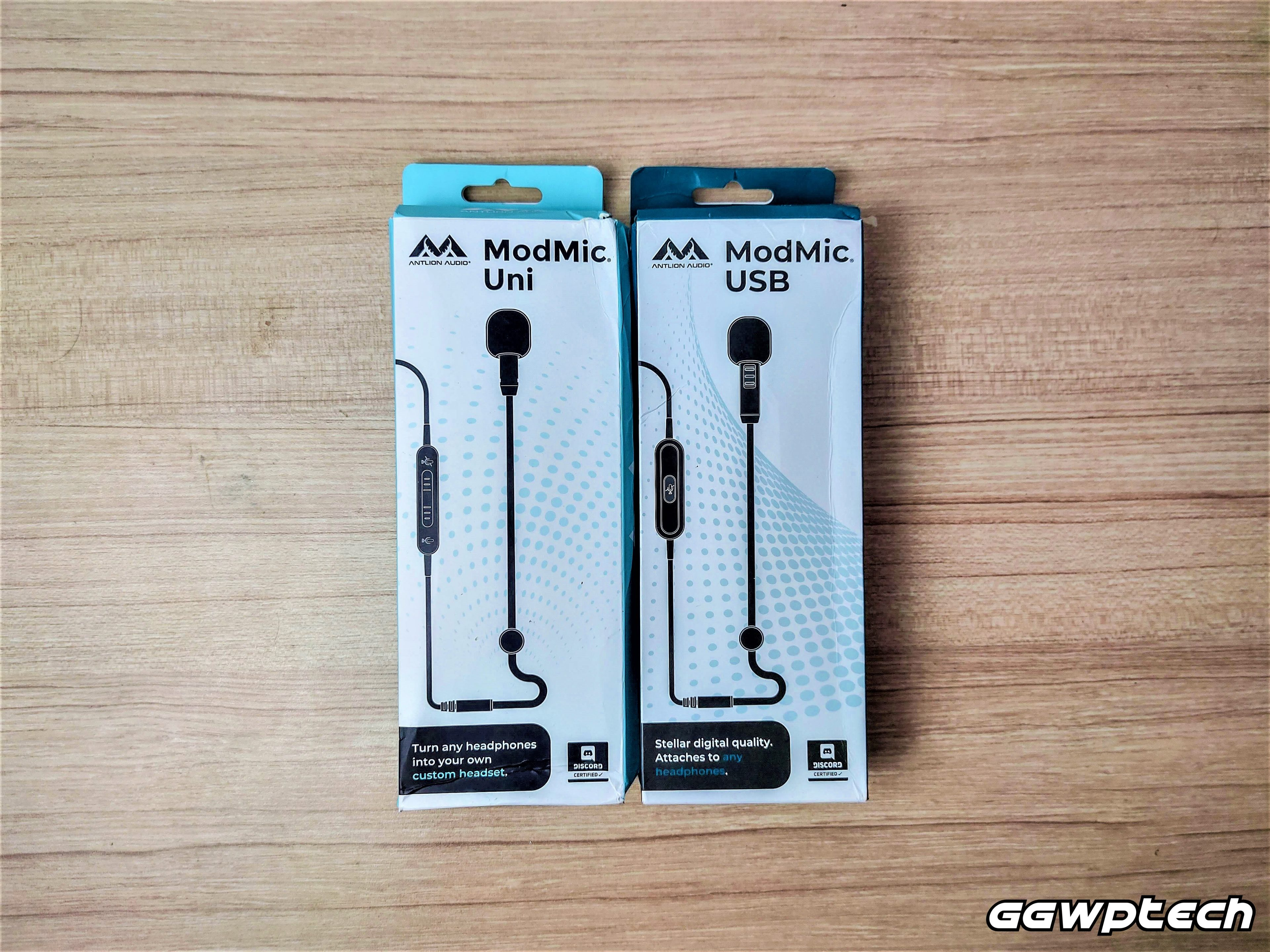 REVIEW   Antlion Modmic Uni and Modmic USB