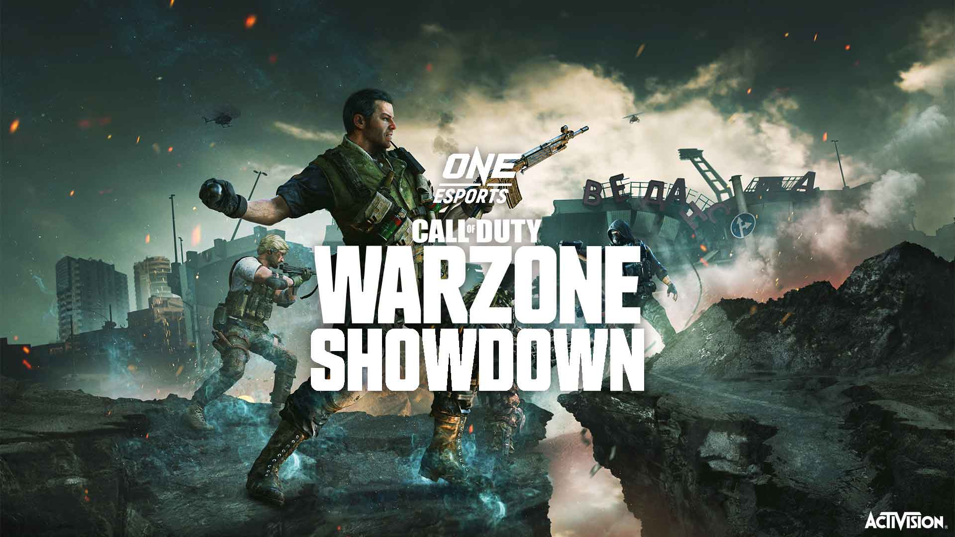 ONE Esports Warzone Showdown is set for October 10th – Philippine Esports has huge potential